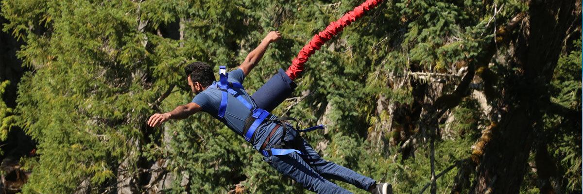 Fremhævede billeder 7 ekstreme sportsgrene du skal prøve til sommer Bungee jump - 7 ekstreme sportsgrene du skal prøve til sommer